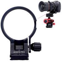 Stativschelle Stativring Objektiv Montage für Canon EF-EOS R Mount Konverter