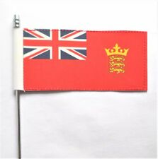 Channel Islands Jersey Civil Red Ensign Ultimate Table Flag