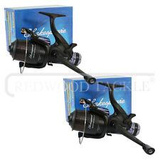 2x Shakespeare Beta 60 FS Spool Carp Fishing Reel