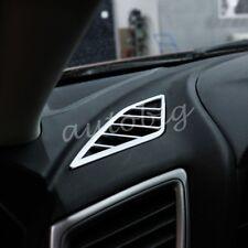 For Mazda3 BM BN 2014-2018 Dashboard Air Vent Matte Chrome Cover Interior Trims