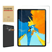 """Tempered Glass Screen Protector Film Protective For Apple iPad Pro 11 12.9"""" 2018"""