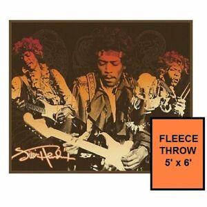 Jimi Hendrix 5' x 6' Fleece Throw Blanket