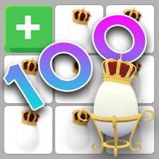 Bundle of 100 Royal Eggs | Roblox Adopt Me!