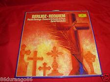 """BERLIOZ REQUIEM PLACIDO DOMINGO CHOEUR ET ORCHESTRE DE PARIS 12"""" VINYL RECORD"""