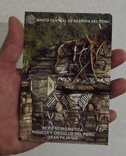 1 SOL 2011 COIN BLISTER RIQUEZA Y ORGULLO DEL PERU GRAN PAJATEN SERIE # 7 UNC