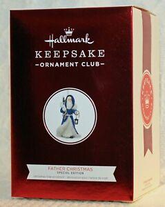 Hallmark 2018 KOCC Keepsake Ornament Club FATHER CHRISTMAS Special Edition NEW