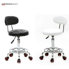 Hydraulic Rolling Swivel Stool Salon Spa Tattoo Chair Facial Massage Equipment
