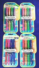 4 Packs of 4 - PAPERMATE Clearpoint Erasable Color Leads Mechanical Pencils