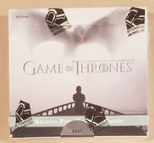 2016 Rittenhouse Game of Thrones Season 5 Box - Factory Sealed