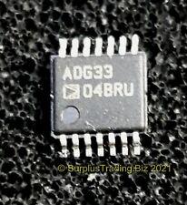 Adg3304Bruz Logic Level Translator, 3-State 1.15 to 5.5V