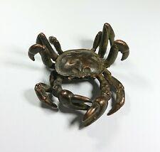 Vintage Miniature Bronze Crab