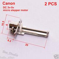 2PCS DC 3V-5V 2-phase 4-wire Micro Stepper Motor linear screw Shaft Rod slider
