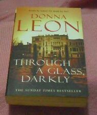 Donna Leon - Through a Glass, Darkly LOCAL FREEPOST sc 0914