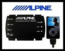Alpine Kce-415i iPod Video Audio for RearSeat Entertainment