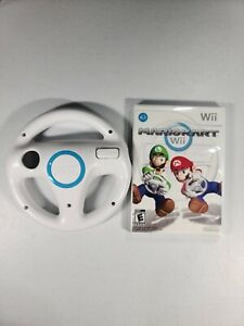 Mario Kart Wii Game with Wii Wheel