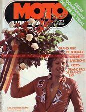 MOTO JOURNAL  227 YAMAHA TY 125 MONTESA 123 Cota 250 BPS VI Grand Prix SPA 1975