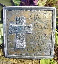 Poly plastic religious Life is Fragile plaque mold mould