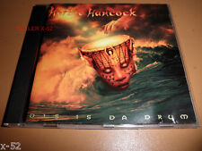 HERBIE HANCOCK cd Dis Is Da DRUM Butterfly Juju Verve Mercury release