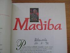 RARE Madiba: Nelson Rolihlahla Mandela, A Celebration SIGNED by Nelson Mandela