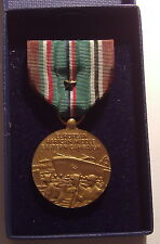 VINTAGE WW II U.S. Coast Guard European African Campaign Medal in Box 1 STAR