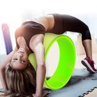 Yoga Stretch Roller Wheel Abdominal Exerciser Indoor Fitness Equipment New