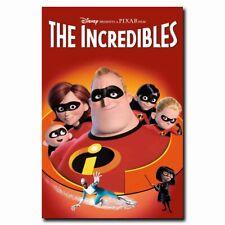 The Incredibles 24x16inch Movie Silk Poster Art Print Room Door Decals Hot