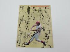 1978 Cincinnati Reds Yearbook Pete Rose Autograph Cover MLB Baseball 3000 Hits