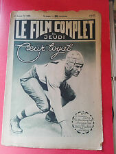 Magazine Movie Star - the Film Full Jeudi - Heart Loyal - 02/06/1927 - No #355
