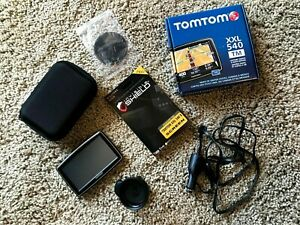 "TomTom XXL540 TM 5.0"" Touchscreen Portable GPS Bundle with Case + Protector (64)"