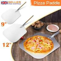 """33.5cm Pizza Paddle Peel Bakers BBQ Oven Restaurant Tray Wooden 13/"""" New"""