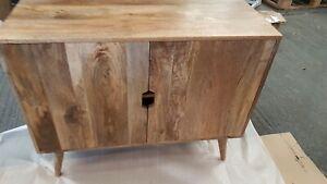 Solid Mango Wood Sideboard /Cupboard new