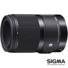 Sigma 70mm f/2.8 DG ART Macro Lens for Sony E ***USA Authorized***