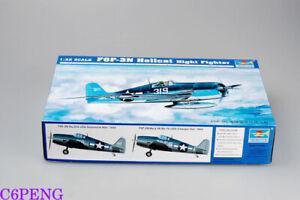 Trumpeter 02258 1/32 F6F-3N Hellcathot