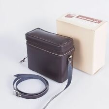 :) LOT OF 4 Vintage Perrin Insta-Bag Leather Camera Case Bag 6x5.5x2.588 w/Strap