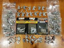 HUGE Multi-listing of Valhallan Ice Warriors Imperial Guard Metal models OOP