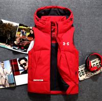 New Under Armour Winter Down Vest Waistcoat Gilet Puffa Vest jackets Down Coat