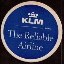 KLM -  BEERCOASTER FROM THE NETHERLANDS OK17030