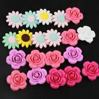Teether Flower Sunflower Silicone Beads BPA Free Baby Teething Pacifier Making