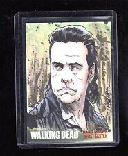 The Walking Dead season 4 Carlos Cabaleiro sketch card