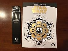 Star Wars - Art of Coloring book - Loot Crate Exclusive - May 2017 w/ Pencils