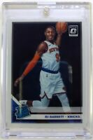 2019-20 Panini Donruss Optic Rated Rookie RJ Barrett Rookie RC #178, Warriors