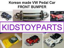 VINTAGE FRONT BUMPER FOR VW VOLKSWAGEN BEETLE BUG PEDAL CAR