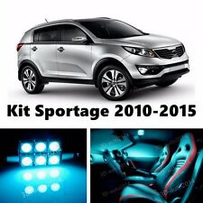 10pcs LED ICE Blue  Light Interior Package Kit for KIA Sportage 2010-2016