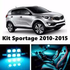 10pcs LED ICE Blue  Light Interior Package Kit for KIA Sportage 2010-2016