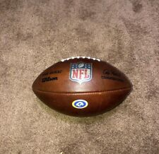 Los Angeles Rams game used Football From 2019-2020
