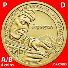 2017 P&D POSITION A & B - SACAGAWEA NATIVE AMERICAN DOLLAR UNCIRCULATED SET