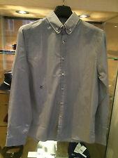 Peter Werth Charcoal Strip Shirt LARGE BNWT RRP £60