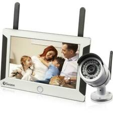 """Swann SwannSecure Video Surveillance System - Camera, Monitor - 7"""" LCD - 720 - H"""