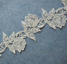3'' Wide Venise Vintage Victorian Floral Lace Trim Ivory s0120