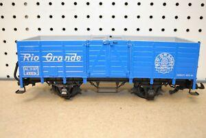 LGB 4021 Blue Rio Grande High-Sided Gondola Car *G-Scale*
